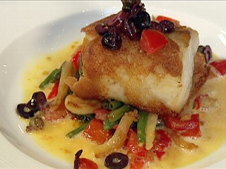 Chef's Table Recipe: Ciabatta-Wrapped Striped Bass