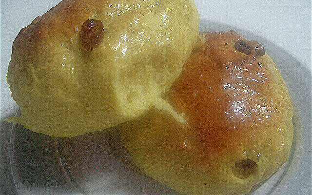 Trinidad Sugar Buns/Hot Cross Buns (recipe)