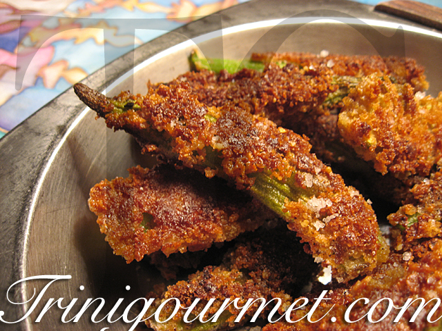 Fried Okras (recipe)