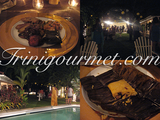 Tropical Xmas Holiday Entertaining