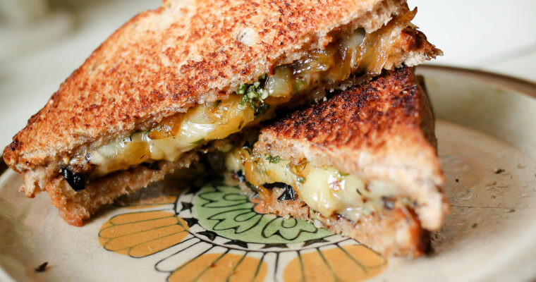 "Sarina's Vegetarian ""Paramin Surprise"" Sandwich""  (I'm on to the Semi-Finals!) (recipe)"