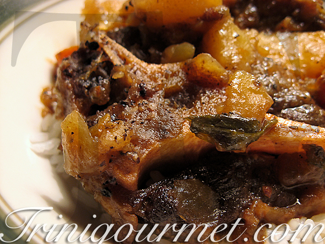 Sarina's Trinidad-Style 'Stew Oxtail' (recipe) – as mentioned in The New York Times