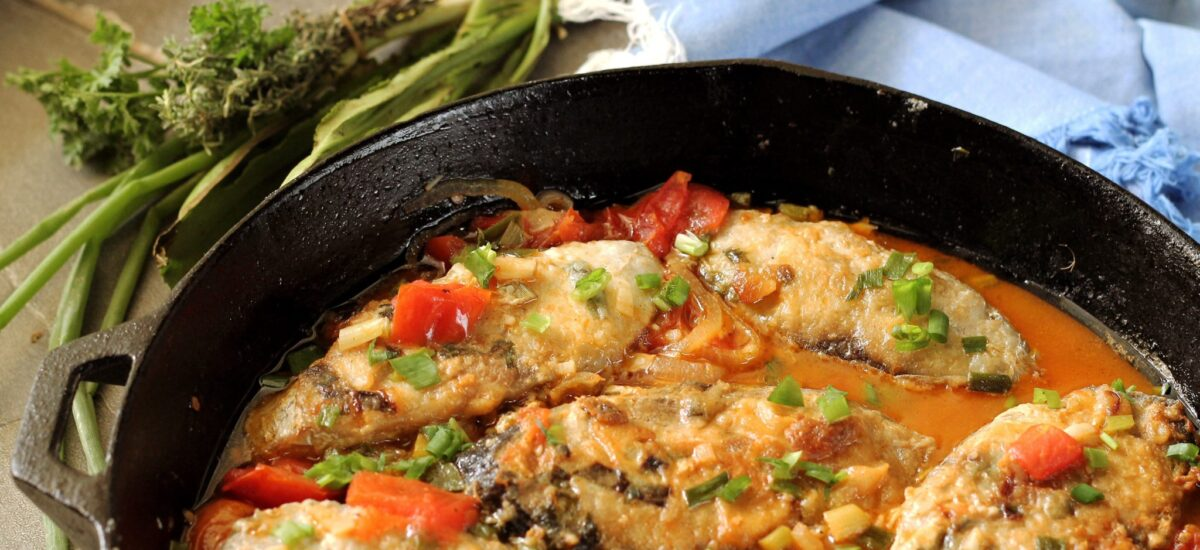 Trinidad Stewed Fish with Gluten-Free Option (Recipe) + The Future of This Site!