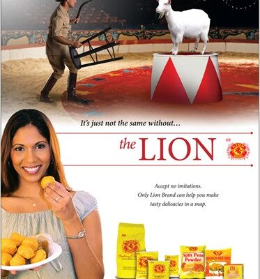 Lion's Baking Powder Commercial (video)