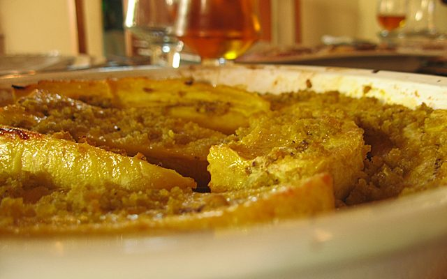 Plantain (or Moko) Baked In Orange Juice (recipe)