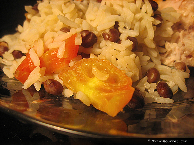 Sarina's Pigeon Peas and Rice (recipe)