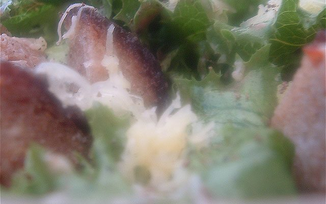 Sarina's Spicy Caesar Salad (recipe)